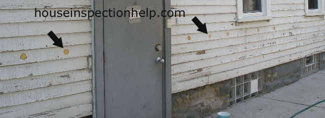 Blown In Insulation Siding Holes