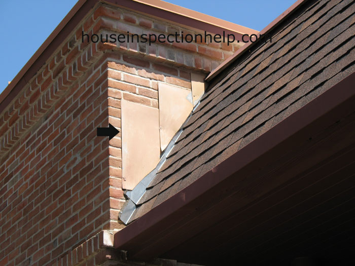 Roof Flashing At Brick Wall