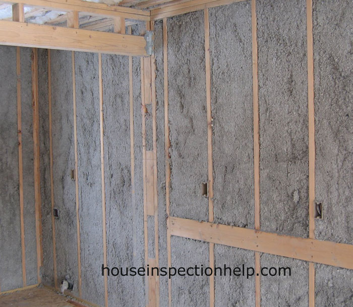 Wall Insulation Blown Cellulose : Cellulose insulation walls