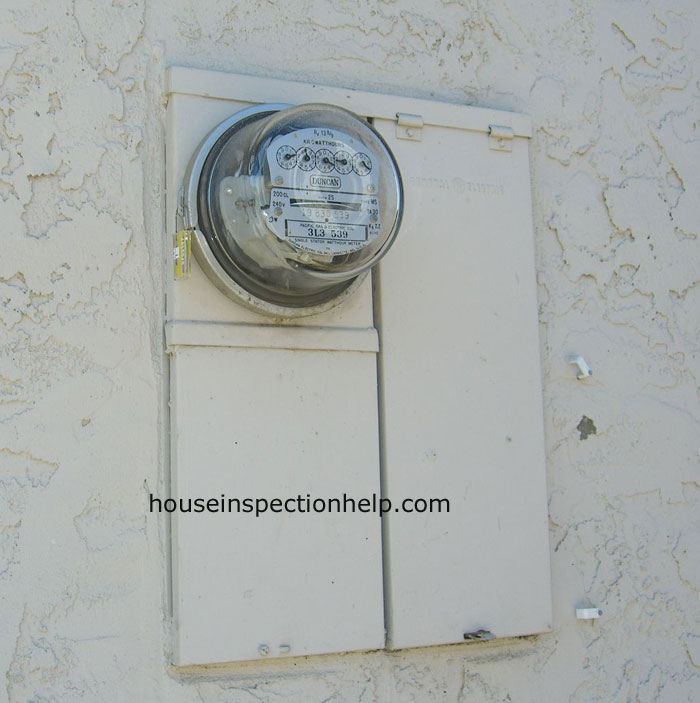 Electric Meter Panel : Electric meter and panel