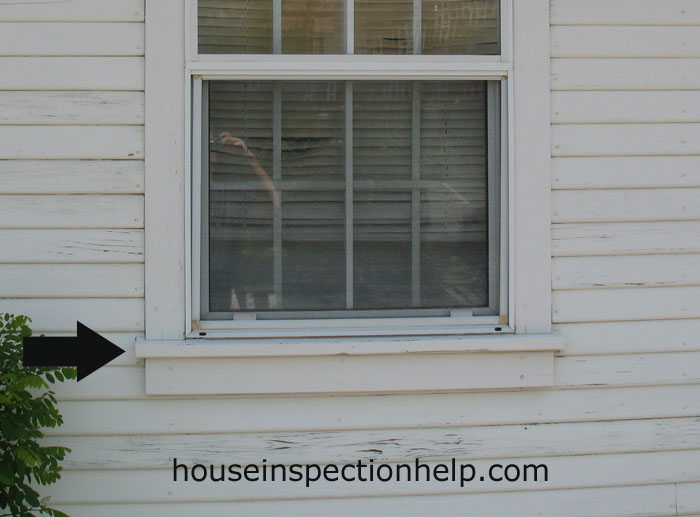 Exterior wood window sill - Painting window sills exterior set ...