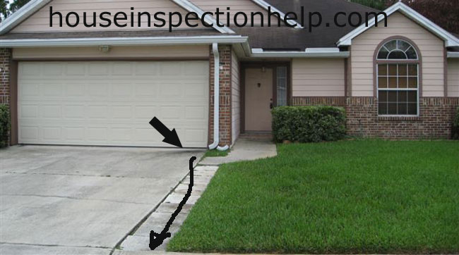 Gutter Driveway Drainage Trouble