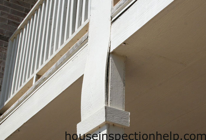 Siding Trim Bowing From Deck