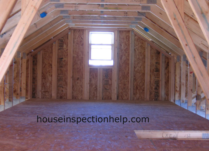 Attic Storage Framing