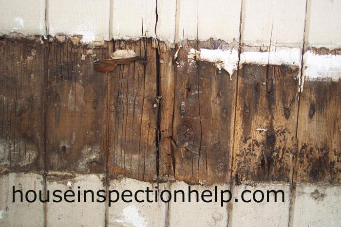 Wood Trim Damage Over Siding