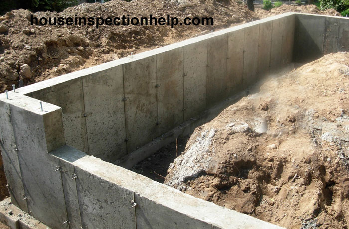 3 Feet Tall Concrete Foundation