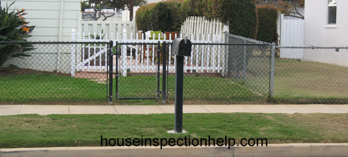 Front Yard Chain Link Fence