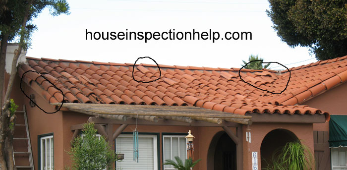 Spanish Tile Roofing Damage