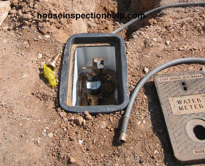House Water Meter : New house water meter