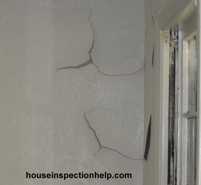 Paint And Plaster Falling Off Wall