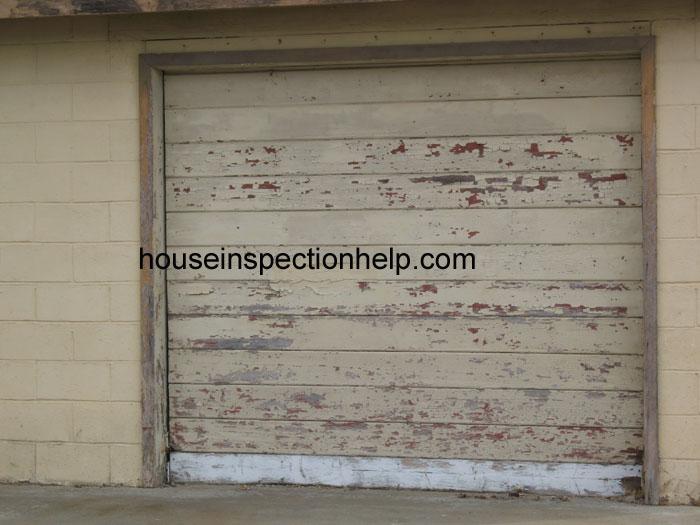 paint peeling off garage door. Black Bedroom Furniture Sets. Home Design Ideas