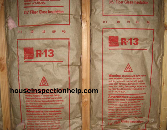 Paper Backed Wall Insulation