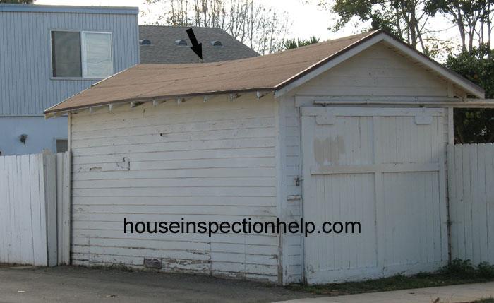 Sagging Garage Roof