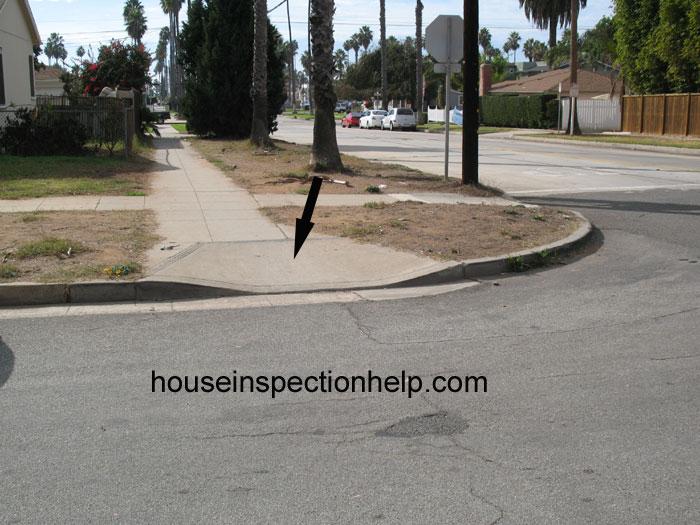 Street Handicap Ramp