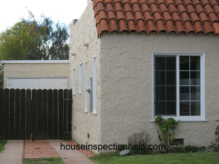 Trowel Stucco Finish Arches