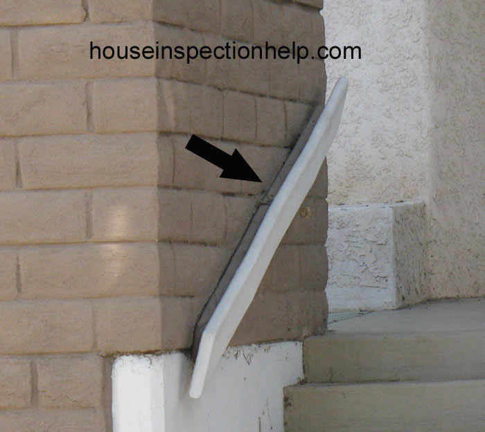 Warped 2 X 6 Stair Handrail