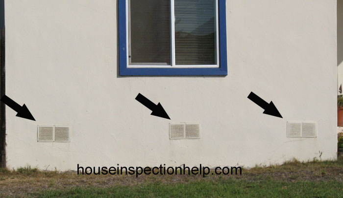 Wrong Foundation Vents