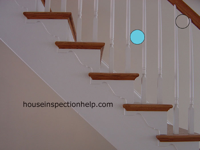 Stair Baluster Spacing