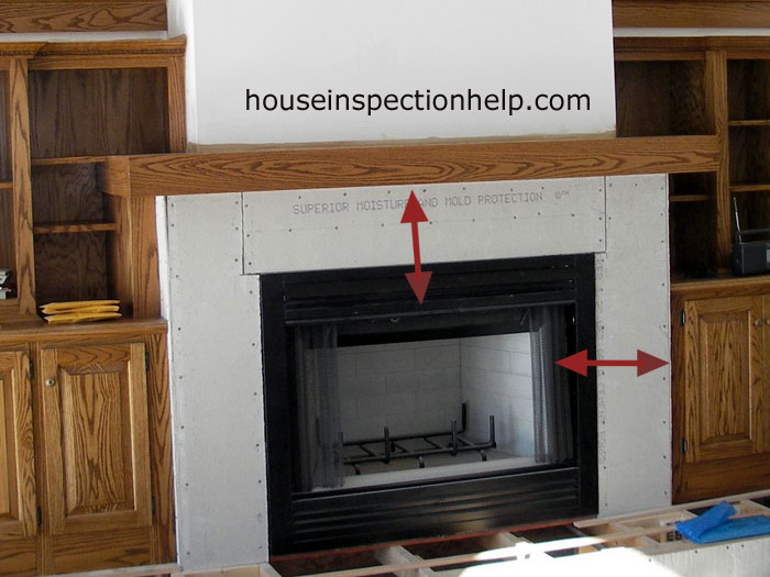 Fireplace Clearances