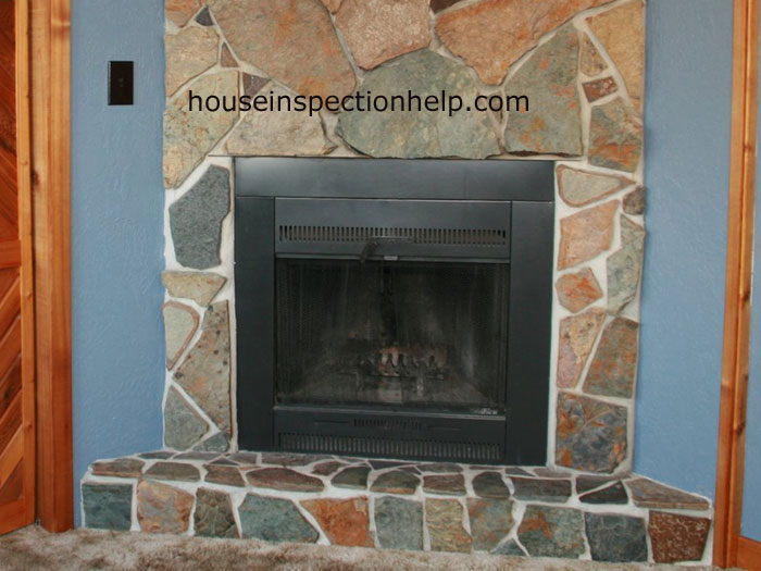 fireplace with out log lighter