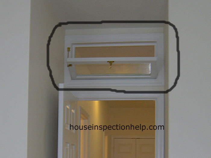 Operable interior transom window for Transom windows