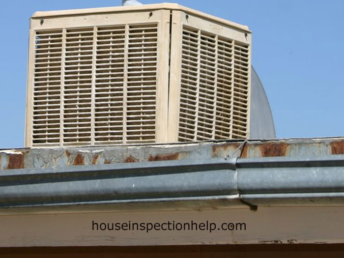 Evaporative Cooler Roof : Roof swamp cooler