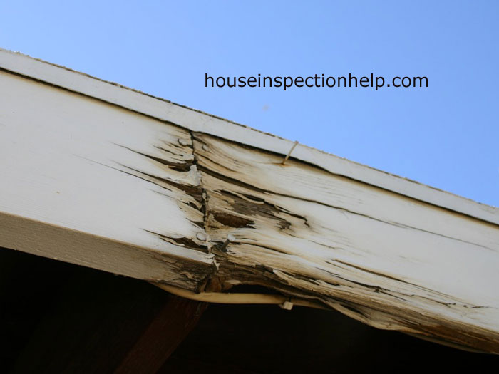 Roof Wood Fascia Damage