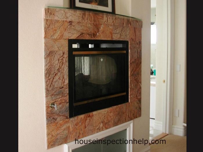 wall gas fireplace