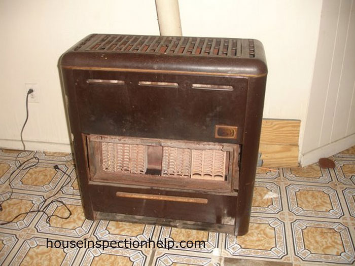Old Floor Heater