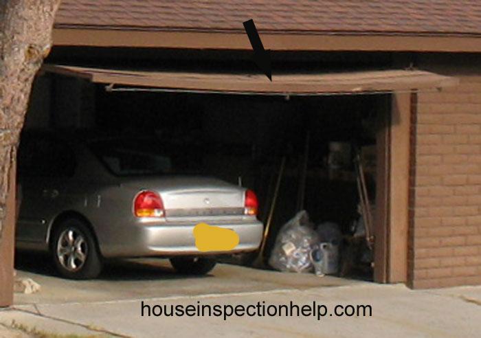 How Do You Fix A Garage Door How To Fix A Sagging Door How To Fix Garage Doors That Squeak
