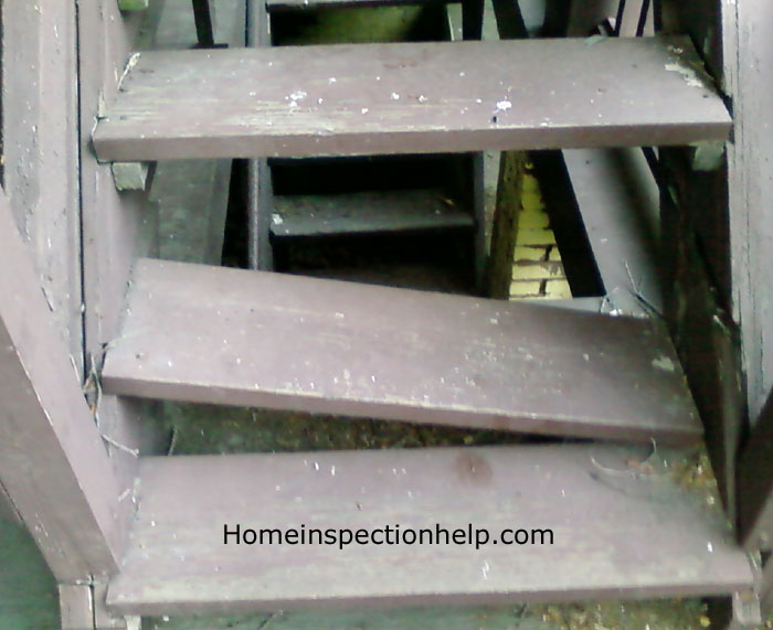Broken Stair Step