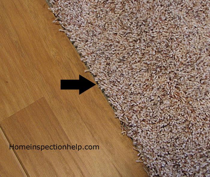 Carpet Joint At Wood Flooring