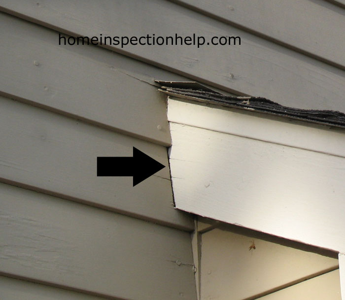 Siding Fascia Board Gap