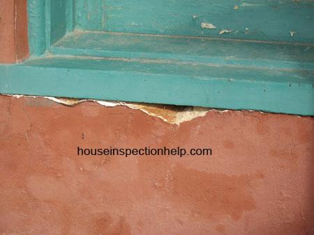 Water Damage Under Wood Window
