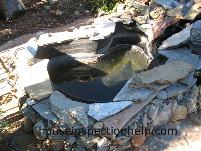 Damaged plastic pond for Plastic pond