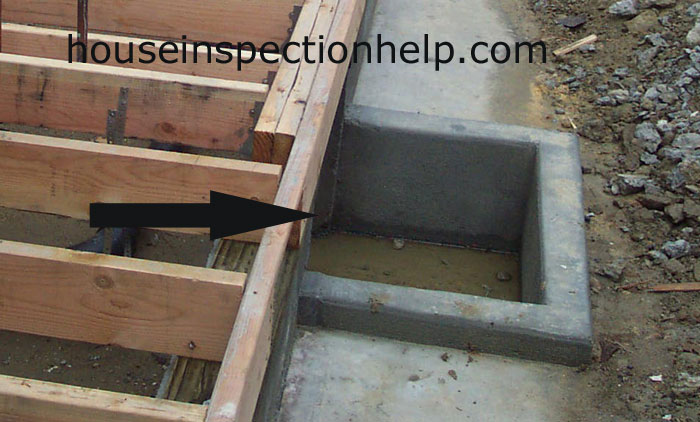 New concrete crawl space access Concrete crawl space floor