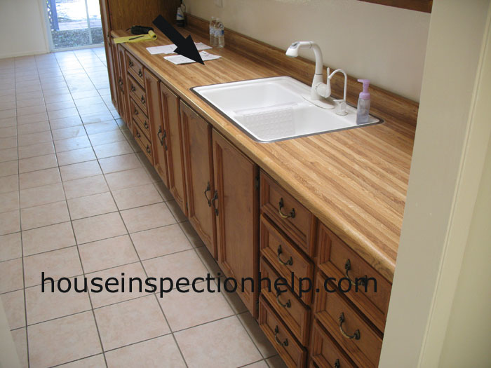 Wood Grain Laminate Countertops Part - 25: Ultimate Home Inspection Advice With Pictures