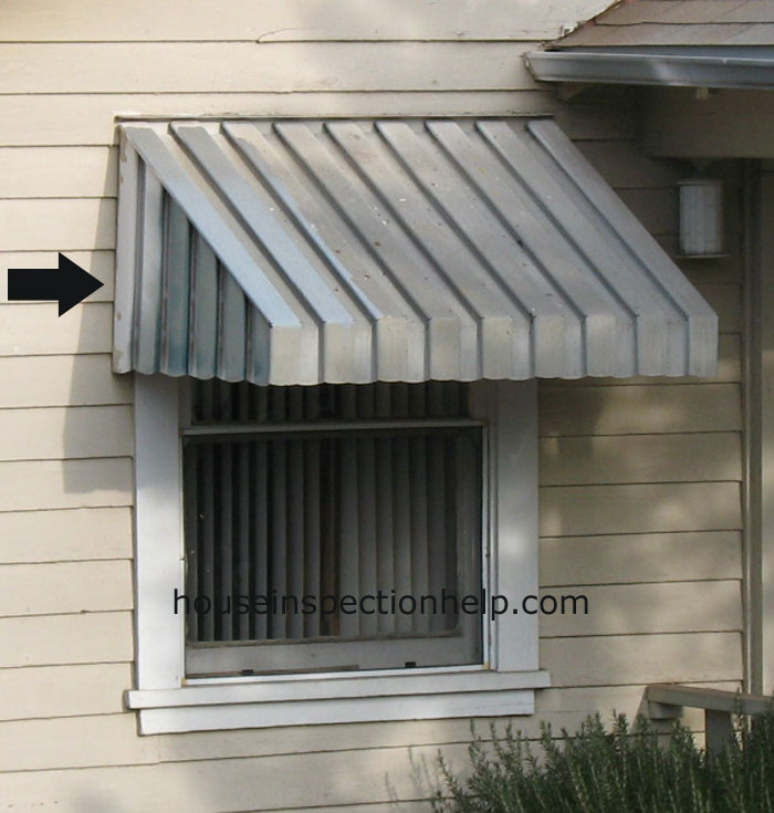 Metal Window Awnings : Aluminum window awnings
