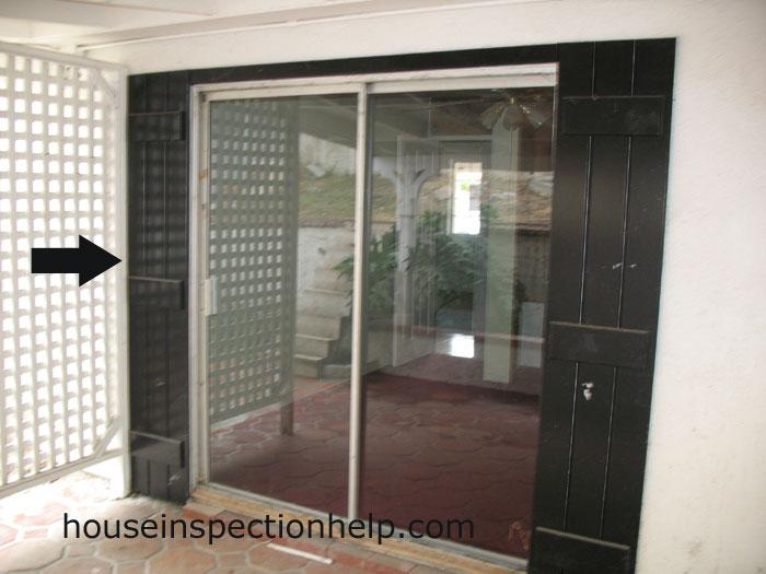 Wood trim around sliding door for Wood trim around doors
