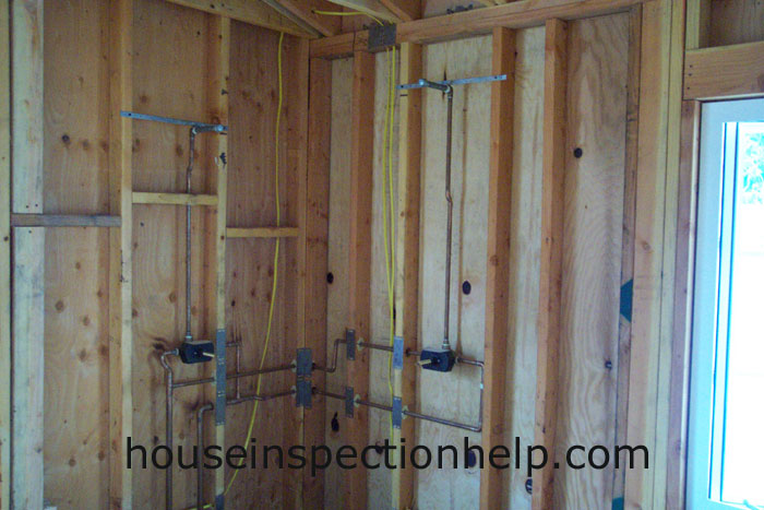 Electrical Wires In Shower Framing