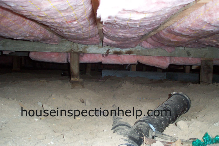 New Insulation Crawl Space