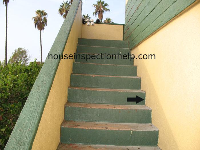 No Stair Flashing At Wall