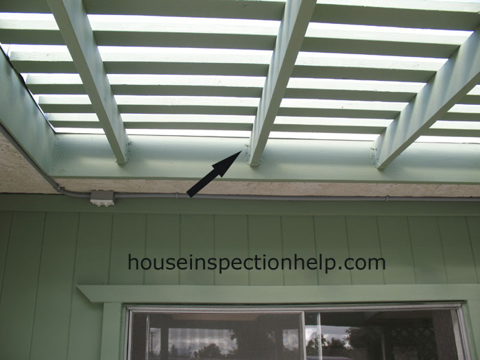 Patio Joist Attached To Fascia