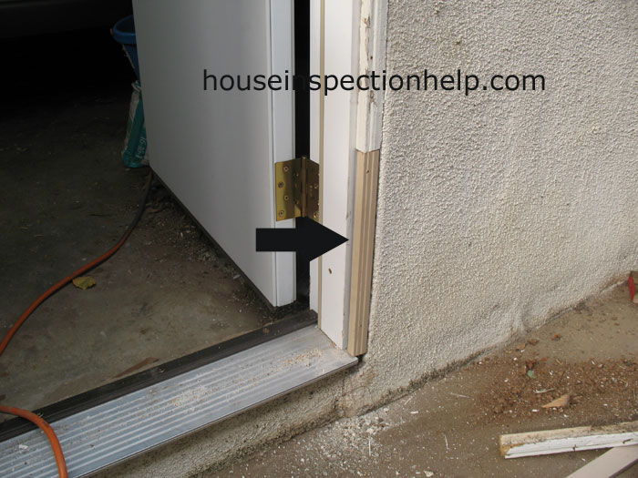 Repaired Door Stucco Molding