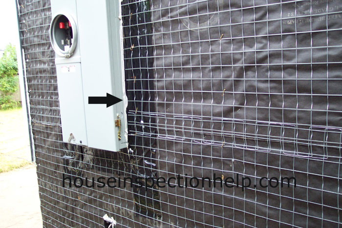 Seal Electric Panel At Lath