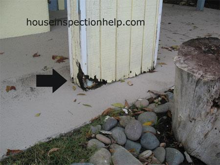 T1 11 Plywood Siding Damage