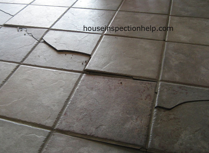 Bad Tile Floor Damage
