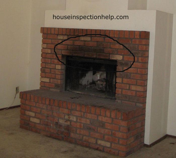 Brick Fireplace Smoke Stains