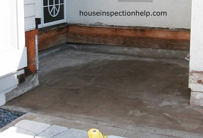 Clean concrete floor under deck for How to clean cement floor