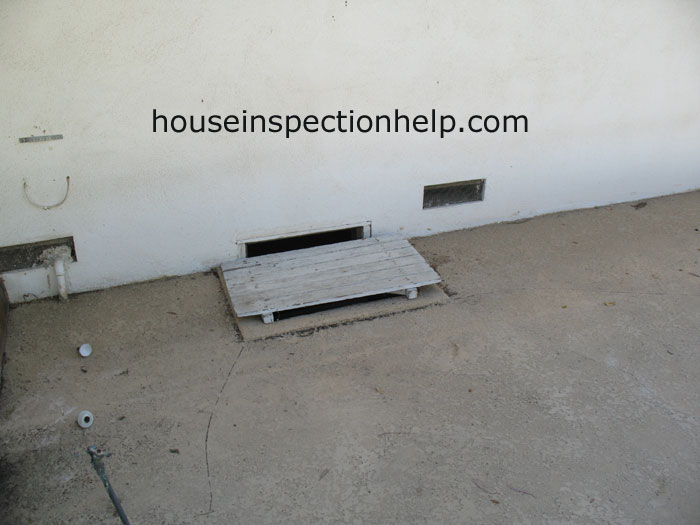 Crawl Space Access Cover